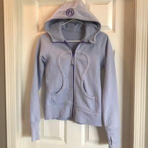 Lululemon women's scuba zip up sweatshirt